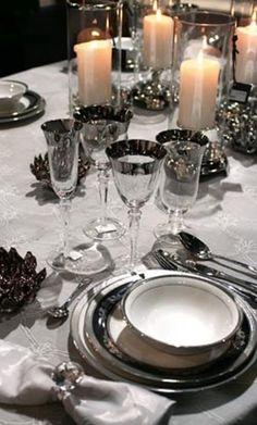 winter wedding table decor ideas 8