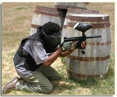 Paint Ball at Kendal Sporting