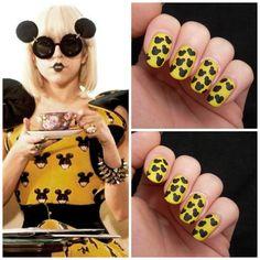Lady Gaga Paparazzi (Jeremy Scott) nails #nailart