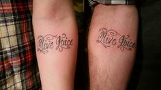Me and Mikes Olive Juice tattoos :)