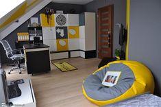 Boy Room, Kids Room, Interior Design Living Room, Bean Bag Chair, Bedroom Decor, Children, Furniture, Gaming Setup, Studio