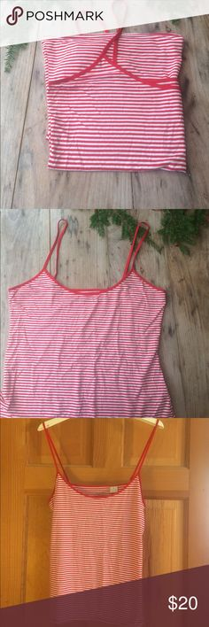 J. Crew striped tank Like new! In excellent condition. Soft soft soft! J. Crew Tops Tank Tops