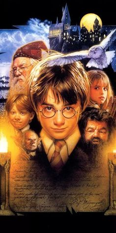 sorcerer s stone movie poster harry potter wallpaper hd hogwarts in the background characters in the middle Harry Potter Tumblr, Harry Potter Poster, Harry Potter Anime, Images Harry Potter, Arte Do Harry Potter, Harry Potter Movies, Harry Potter Ron Weasley, Hermione Granger, Draco Y Hermione