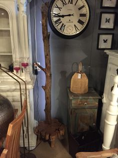 Drift wood lamp.. Oz-style