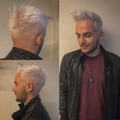 """90 Me gusta, 6 comentarios - Carlo Roger (@twilborg) en Instagram: """"❄️WHITE WHITE WHITE ❄️ Change look ‼️@_andre_bianchi ‼️ Color by @veronica.epi Cut by me.…"""""""