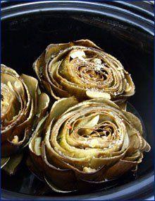 Crock Pot Artichokes