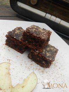 Gyors diós-almás gluténmentes süti édesítőszerrel Egy gyorsan elkészíthető gluténmentes süti Mona új Élet az ételallergiával című gluténmentes receptes-könyvében megjelent 100 recept közül