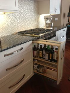 Love handles and backsplash