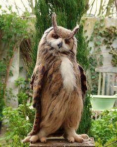 Eagle Owl | Photo by Helen Priem  #wildlives by wildlives
