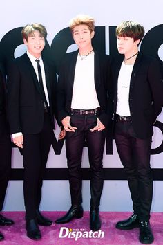 BBMAs 2017: BTS- Jungkook, Rapmonster, Jimin