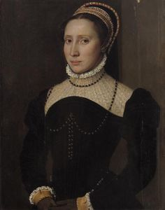 ab. 1540-1550 Anonym, Netherlands - Portrait of a woman