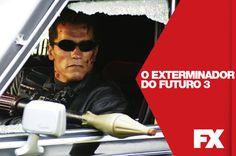 Passaram-se 10 anos desde quando John Conner salvou a Terra do dia do Julgamento Final, e agora ele está vivendo vigiado.  O Exterminador do Futuro 3 - Sábado 19 às 22h   #FXCine  Confira conteúdo exclusivo no www.foxplay.com