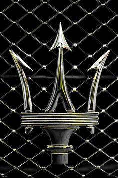 Visit The MACHINE Shop Café... (Best of Maserati @ MACHINE) Classic Maserati Arrows Emblem