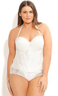 28d5a37d62 City Chic - GRACE CORSET - Women s Plus Size Fashion - Lingerie - Intimates  - Bra