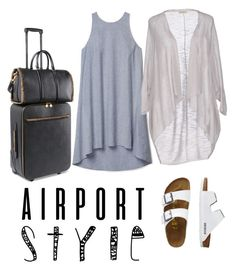 """""""Layover Layers"""" by ivanavic ❤ liked on Polyvore featuring Theory, TravelSmith, Cashmere Company, STELLA McCARTNEY, GetTheLook and airportstyle"""