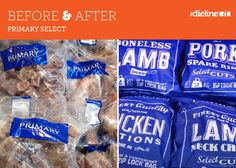 Before & After: Primary Select #packaging #design #beforeandafter