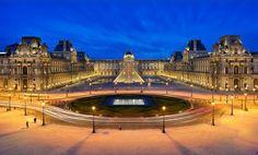 The Louvre Museum, Paris.