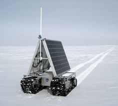 NASA will test a new robotic explorer, dubbed GROVER, in Greenland from early May to early June Robotics Engineering, Robotics Projects, Drones, Nasa Rover, Greenland Ice Sheet, Advanced Robotics, Nasa Goddard, New Technology Gadgets, Future Weapons