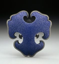 """Ero-Blue Brooch"" - Joe Wood"