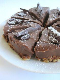Choklad och mandel tårta — LittleDessert