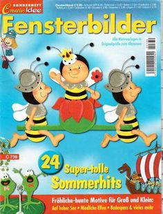 Fensterbilder Super - tolle Sommerhits - jana rakovska - Àlbums web de Picasa Book Crafts, Diy And Crafts, Crafts For Kids, Paper Crafts, Album, Magazine Crafts, Collage Illustration, Magazines For Kids, Book Folding