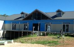 Spantec EziPiers and Steel Floor Framing used on this one of a kind owner built home