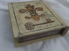 Caja Libro Vintage