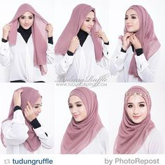Dress brokat hijab simple 58 super ideas Source by – Hijab Fashion 2020 Tutorial Hijab Pesta, Hijab Style Tutorial, Pashmina Hijab Tutorial, Square Hijab Tutorial, Hijab Mode Inspiration, Beau Hijab, Hijab Simple, How To Wear Hijab, Dress Brokat