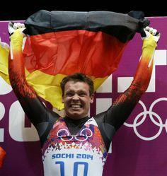 sochi-2014, Germany's Loch wins 2nd gold in Olympic luge