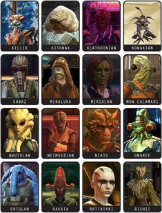 Alien Compendium: The Old Republic – Alien Anthology Star Wars Pictures, Star Wars Images, Star Wars Rpg, Star Wars Clone Wars, Star Wars History, Starwars, Star Wars Species, Star Wars The Old, Alien Character