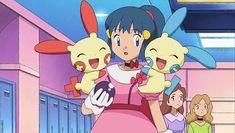 Pokemon Gif, Pokemon People, Pokemon Stuff, Pink Photo, Catch Em All, Having A Crush, Pink Dress, Pretty In Pink, Memes