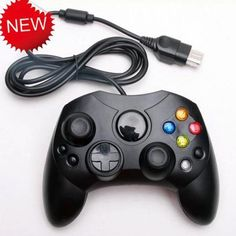 Black Wired Gamepad Joypad Controller For Xbox Console - US$9.22