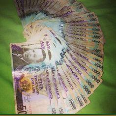 I'm rich! Jamaican Dollar, Make Money Online, How To Make Money, Money Bill, Ocho Rios, Island Nations, Solo Travel, Reggae, All Over The World
