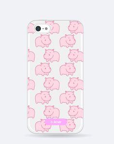 Funda móvil transparente Cute hipopótamos rosas | b-Kover Smartphone, Pretty In Pink, Phone Cases, Animal, See Through, Mobile Cases, Roses, Phone Case, Animals