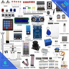 Adeept RFID Starter Leaning Kit for Arduino UNO R3 from Knowing to Utilizing LED #Adeept