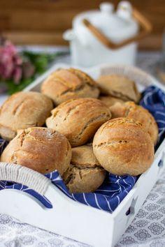 Herkulliset ruissämpylät - Pullahiiren leivontanurkka Bread, Baking, Food, Brot, Bakken, Essen, Meals, Breads, Backen