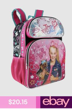 New KBNL Nickelodeon Girl Jojo Siwa BowBow 16 School Backpack online - Topbrandsclothing