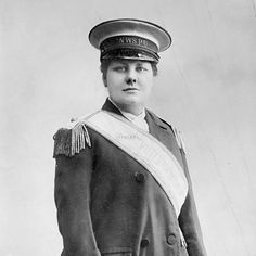 Flora Drummond Drummond oversaw the WSPU's Cycling Scouts, a troop of valiant suffragette riders who circulated information to women living outside city centers. Her fondness for military garb (she often wore epaulets and attended marches on horseback) earned her the nickname General.