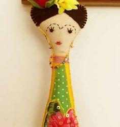 Frida, uma boneca