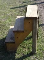 Mounting Block - good photos with instructions. She made hers for about $20. Might have to try to do this.