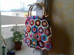 Ravelry: Mamy Bag pattern by Cécile Franconie ✿Teresa Restegui http://www.pinterest.com/teretegui/✿
