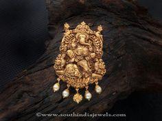 Ganapthy Pendant Designs, Ganesh Pendant Designs.