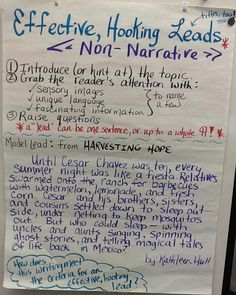 non narrative writing Reading non-narrative so far, we have been studying how to read non-narrative tools for understanding non-narrative writing are these: determining what is general.