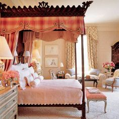 bedroom for a duchess....