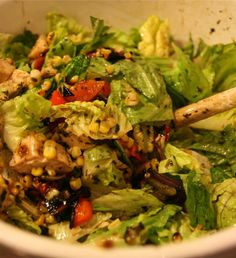 chicken salad....many more good recipes on this blog