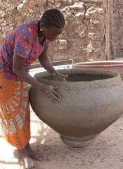 African Pottery Techniques- I'm totally making another one. Time to measure the kiln.