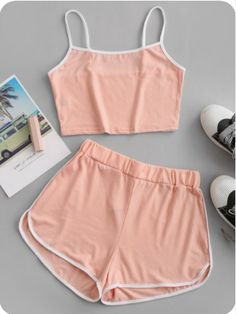 Girls Fashion Clothes, Teen Fashion Outfits, Outfits For Teens, Girl Outfits, Teen Girl Clothes, Trendy Fashion, Cute Lazy Outfits, Crop Top Outfits, Trendy Outfits