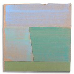 Hans Gerritsen — Karton_serie_02 - Abstract Dutch landscape painting on cardboard, Holland, Groningen, cardboard