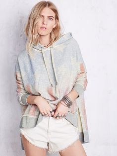 Free People Americana Hoodie at Free People Clothing Boutique