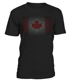 LIMITED DESIGN - GET YOURS NOW - Shirt - Canada - Kanada - Ahorn - Maple - Flag - Flagge - Grid - Gitter - Reisen - Travel